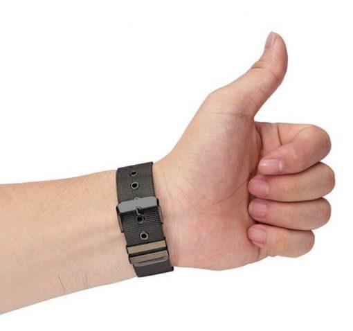 Ремешок Milanese Loop для Samsung Galaxy Watch 46mm с классической застежкой-5
