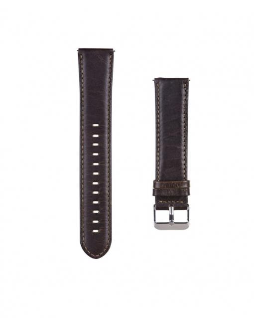 Ремешок Retro Genuine Leather для Moto 360 2 gen 46 mm-2