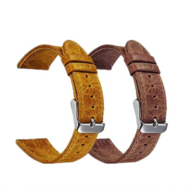 Ремешок Retro Genuine Leather для Samsung Galaxy Watch 46 mm