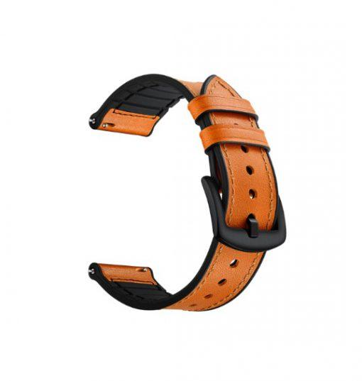 Ремешок Silicon Leather для Samsung Galaxy Watch Active 2 44 mm-4