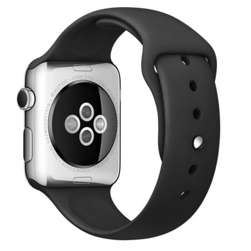 Ремешок Sport Band Apple Watch Series 1/2/3 BLACK