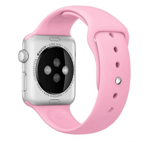Ремешок Sport Band Apple Watch Series 1/2/3 PINK