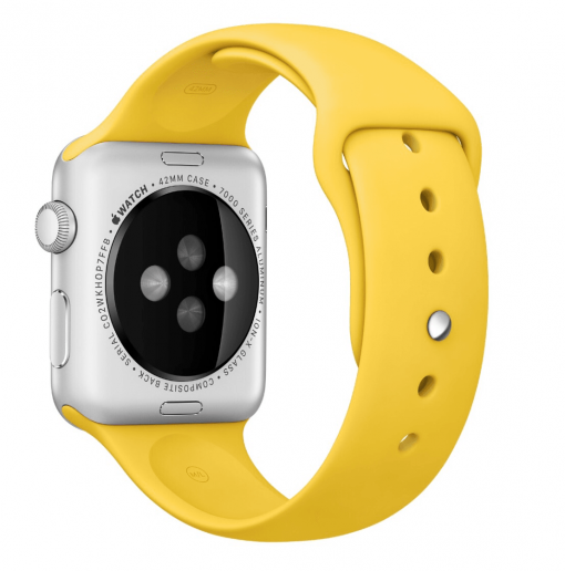 Ремешок Sport Band Apple Watch Series 1/2/3 YELLOW