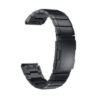 Ремешок стальной Metal Block для Garmin Fenix 5 QuickFit