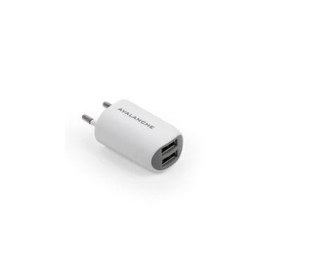 Сетевое зарядное устройство Avalanche ACH-017 USBх2 (2.1A / 1A)