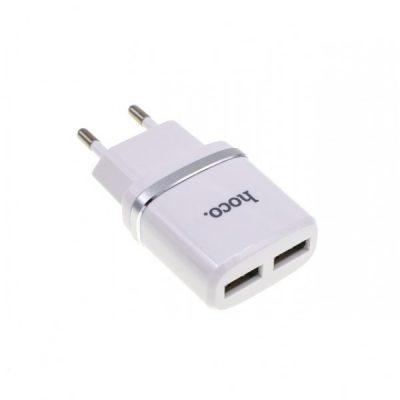 Сетевое зарядное устройство HOCO C12 2USB 2100 mAH
