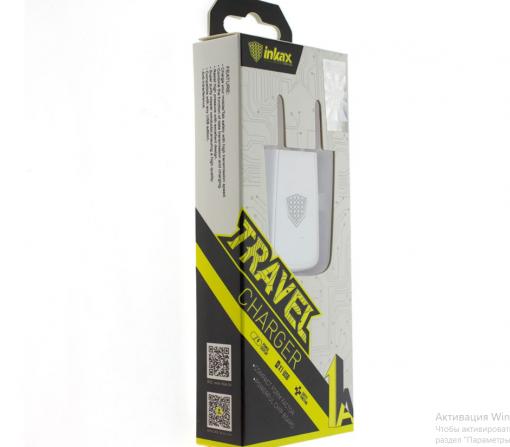Сетевое зарядное устройство Inkax CD-07 1A USB-2