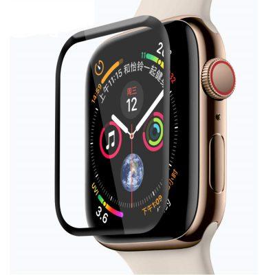 Защитное стекло 3D для Apple Watch Series 4 ( FULL GLUE )
