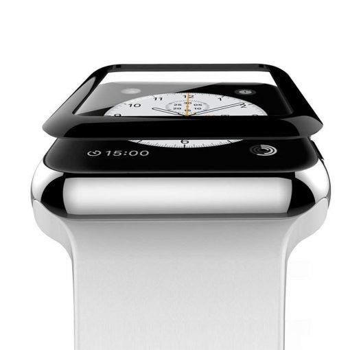 Защитное стекло 3D для Apple Watch Series 4 ( FULL GLUE )-2