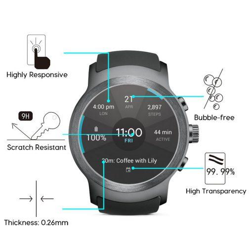 Защитное стекло для LG Watch Sport