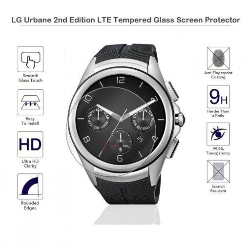 Защитное стекло для LG Watch Urbane 2